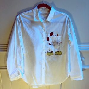 Mickey Mouse Blouse like new